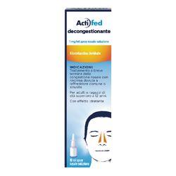 Acti Fed Decongestionante Spray Nasale