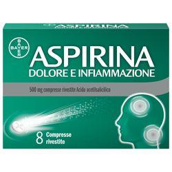 ASPIRINA Dolore e Infiammazione 500 mg Acido acetilsalicilico Compresse rivestite