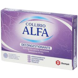COLLIRIO ALFA® 0,8mg/ml 10 Cont. Monodose