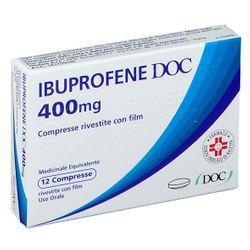 IBUPROFENE DOC 400 mg Compresse