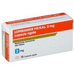 LOPERAMIDE HEXAL 2 mg Capsule rigide