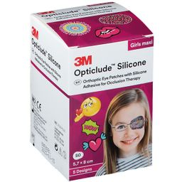 3M™ Opticlude™ Silicone Girls Maxi  5,7 x 8,0 cm