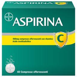 ASPIRINA C 400 mg Compresse Effervescenti
