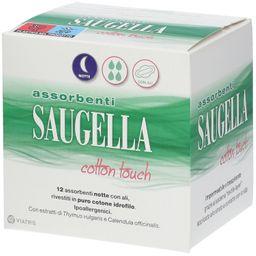 Assorbenti Saugella Cotton Touch Con Ali Notte