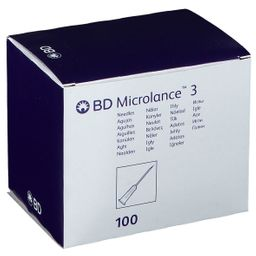 BD Microlance 3 Needles 27G 3/4 RB 0.4x19Mm