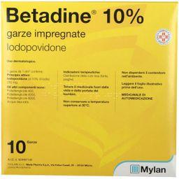 Betadine® Garze impregnate Iodopovidone 10%