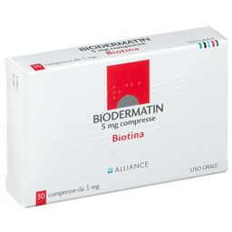 BIODERMATIN 5 mg Compresse