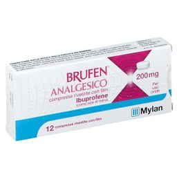 BRUFEN® Analgesico 200 mg