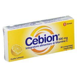 Cebion® 500 mg Gusto Limone