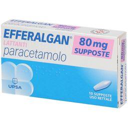 EFFERALGAN® Supposte 80 mg