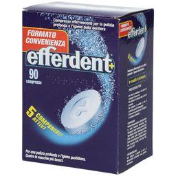 Efferdent®+ 90 Compresse Effervescenti Pulizia Dentiere