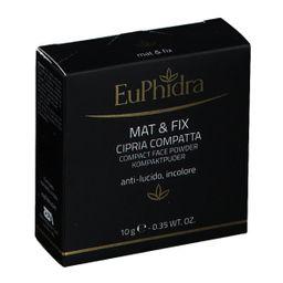 EuPhidra Mat & Fix Cipria Compatta Anti-lucido Incolore