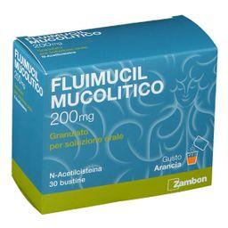 Fluimucil Mucolitico 200 mg Granulato per soluzione orale