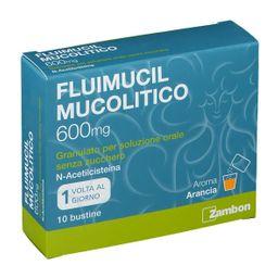FLUIMUCIL MUCOLITICO 600 mg Granulato 10 Bustine
