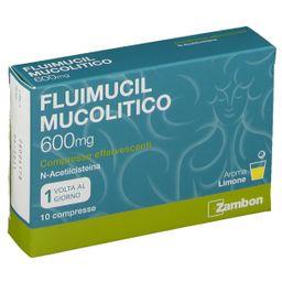 Fluimucil Mucolotico 600 mg Compresse Effervescenti Aroma Limone