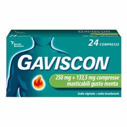 GAVISCON® 250 mg+133,5 mg Compresse masticabili menta