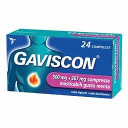 GAVISCON® 500+267 mg Compresse Masticabili Menta