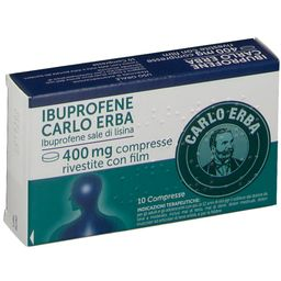 IBUPROFENE Carlo Erba 400 mg Compresse