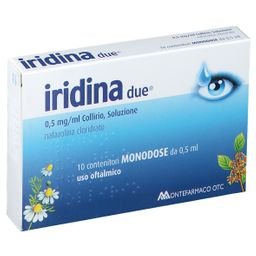 Iridina due® 0,5 mg/ml Collirio Contenitori monodose