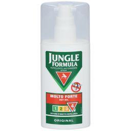 JUNGLE FORMULA Repellente antizanzare spray original Molto forte