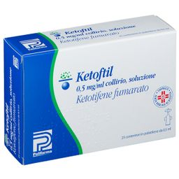 Ketoftil 0,5 mg/ml Collirio Soluzione
