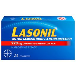 Lasonil Antinfiammatorio e Antireumatico 220 mg Naprossene Sodico Compresse Rivestite