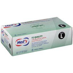 Med+S® FZ Quality 100 Guanti in Lattice
