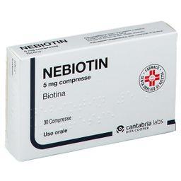 NEBIOTIN 5 mg compresse