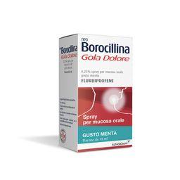 NeoBorocillina Gola Dolore Flurbiprofene Spray Gusto menta