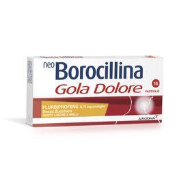 NeoBorocillina Gola Dolore Senza Zucchero Gusto Limone e Miele