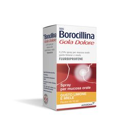 Neoborocillina Gola Dolore Spray Gusto Limone e Miele