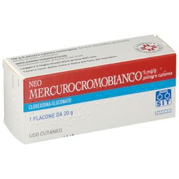 NEOMERCUROCROMO BIANCO Polvere 20 g
