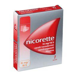 Nicorette 15 mg/16 ore Cerotti Transdermici