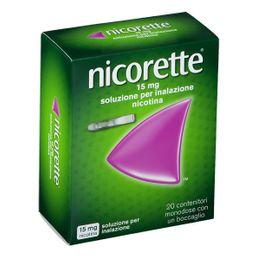 Nicorette® Soluzione per inalazione 20 pz 15 mg