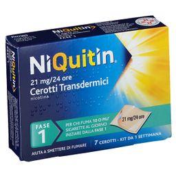 NIQUITIN 7 Cerotti Transdermici 24 H