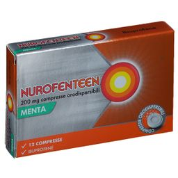 NUROFENTEEN 200 mg Compresse Orodispersibili Menta