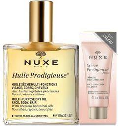 NUXE Prodigieuse® Olio Secco + Crema Gel multi-Correzione