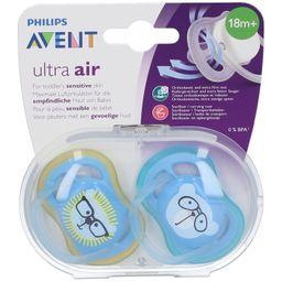 Philips Avent Succhietto Ultra Air 18m+