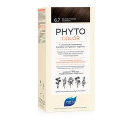 PHYTO PHYTOCOLOR Colorazione Permanente Biondo Scuro Tabacco 6.7