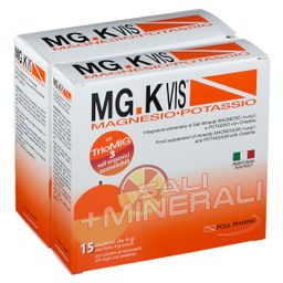 POOL PHARMA MG.K  VIS® Magnesio e Potassio Orange 30+15 Bustine