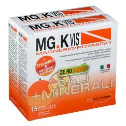 POOL PHARMA MG.K VIS® Magnesio e Potassio Orange Zero Zuccheri 15+15 Bustine