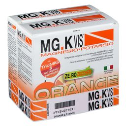 POOL PHARMA MG.K VIS® Zero Zuccheri Orange 30+15 Bustine