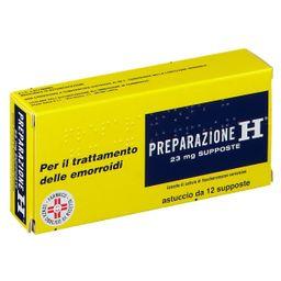 Preparazione H® Supposte