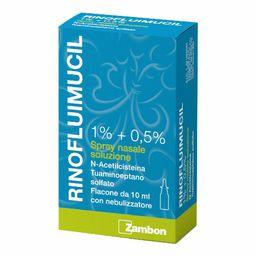 Rinoflumucil 1 % + 0,5 % Spray nasale Soluzione
