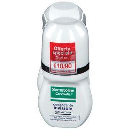Somatoline Cosmetic® Deodorante Invisibile Roll-On, Duo Pack