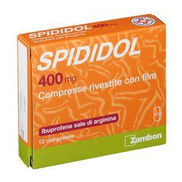 SPIDIDOL 12 Compresse Rivestite 400 mg