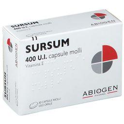 SURSUM 400 U.I. capsule molli