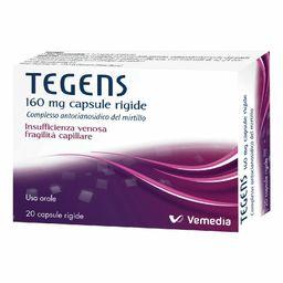 TEGENS 160 mg Capsule Rigide