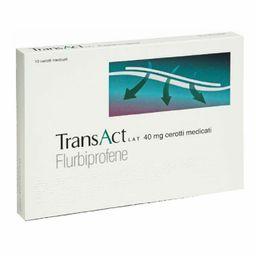 TransAct LAT cerotti medicati Flurbriprofene
