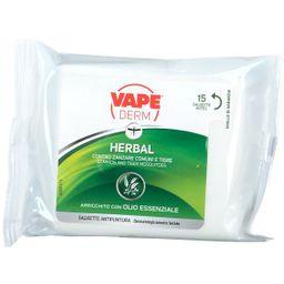 VAPE Derm Herbal Salviette Antipuntura